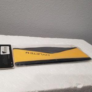 Hylete Inline Reversible Headband Black-Yellow S/M